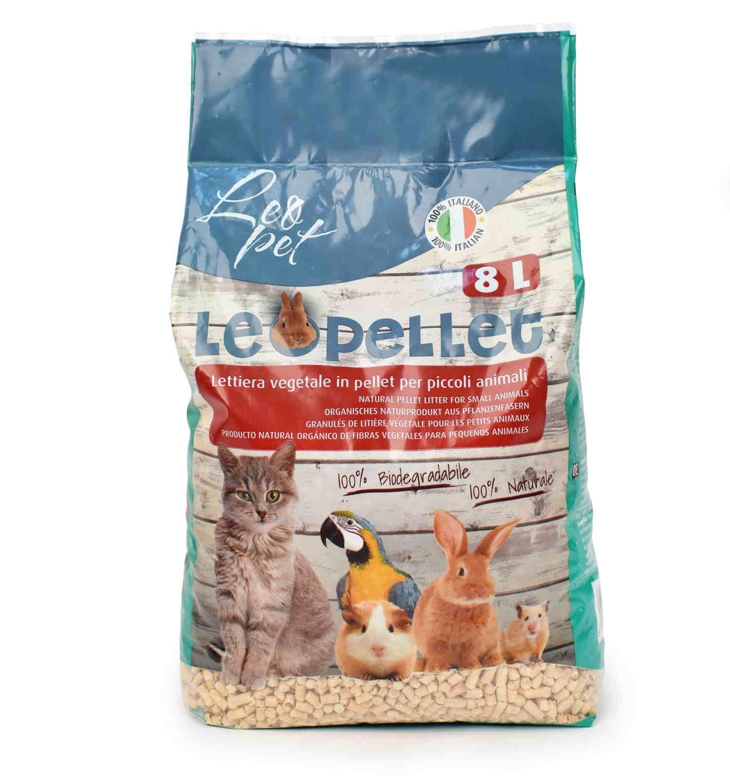 Lettiera In Pellet Per Conigli Nani 8 Litri Articoli Animali