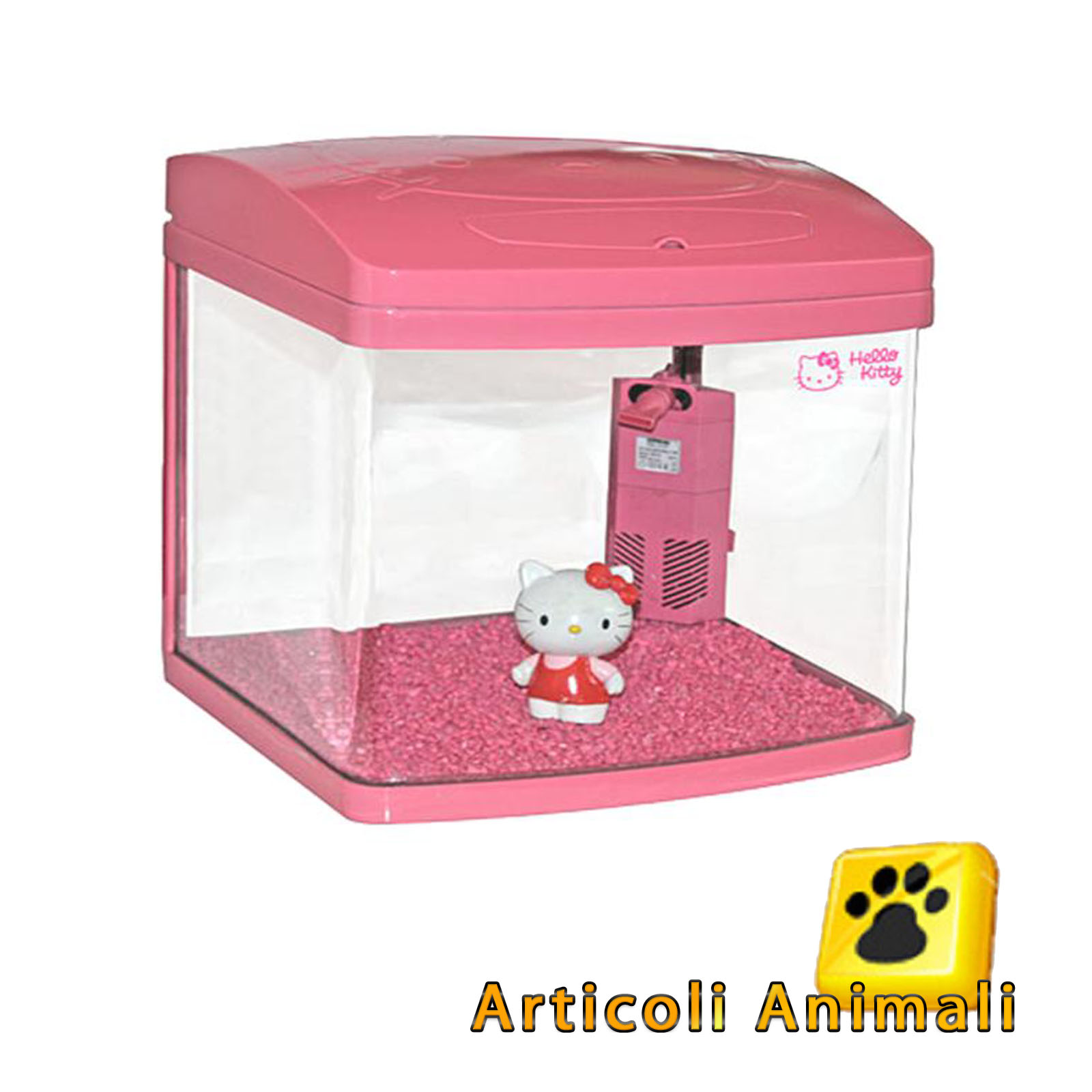 Acquario xcube 20lt hello kitty 20x27x30h