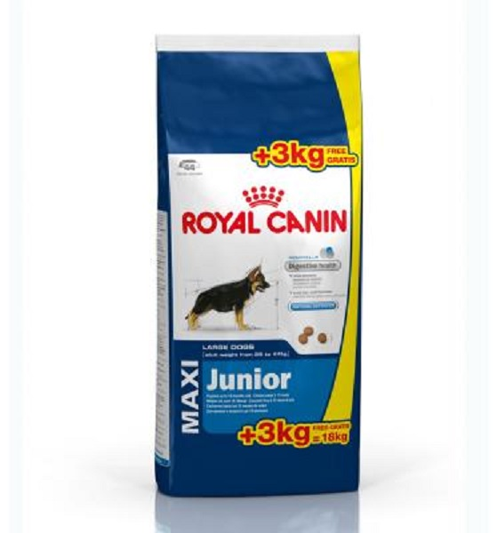 Crocchette cane royal canin maxi junior 18kg