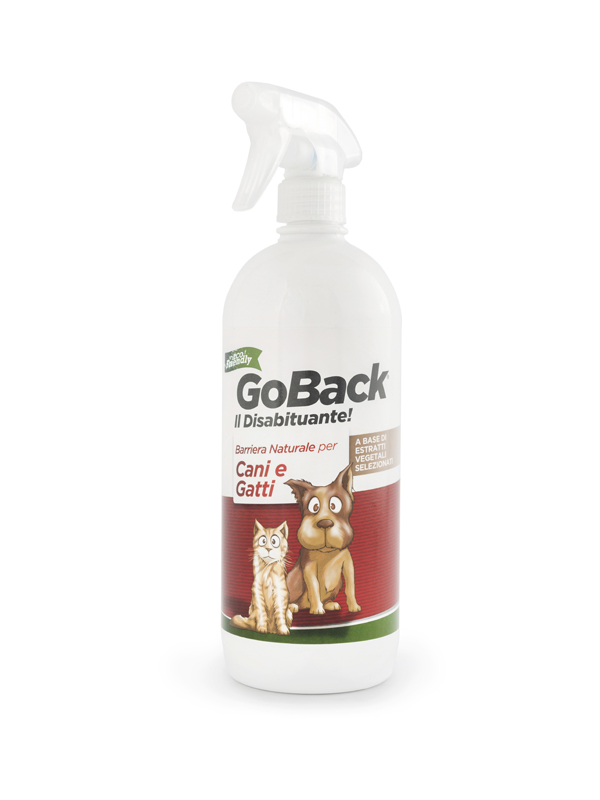 Disabituante per cani e gatti spray 750ml barriera naturale