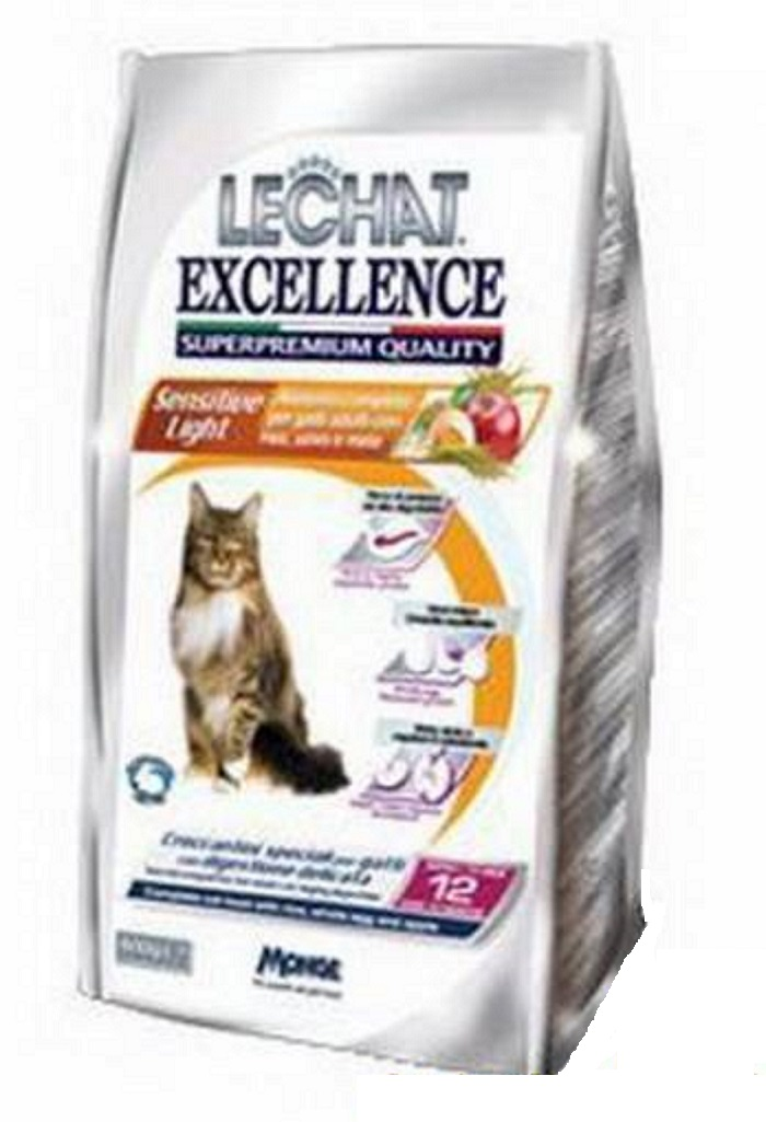 Crocchette gatto le chat excellence sensitive 400 grammi