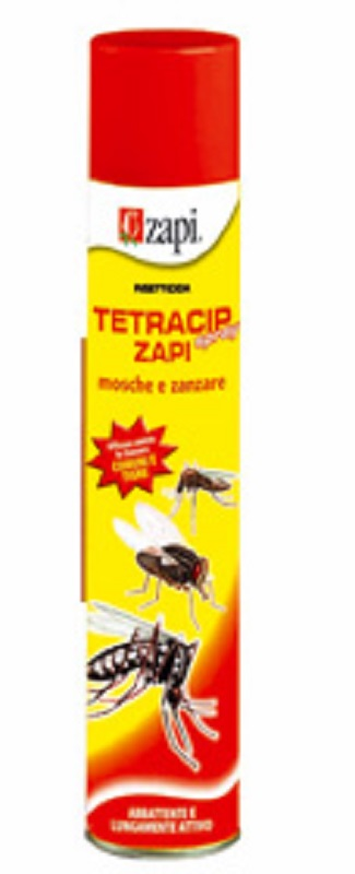Anti mosche e zanzare tetracip zapi spray