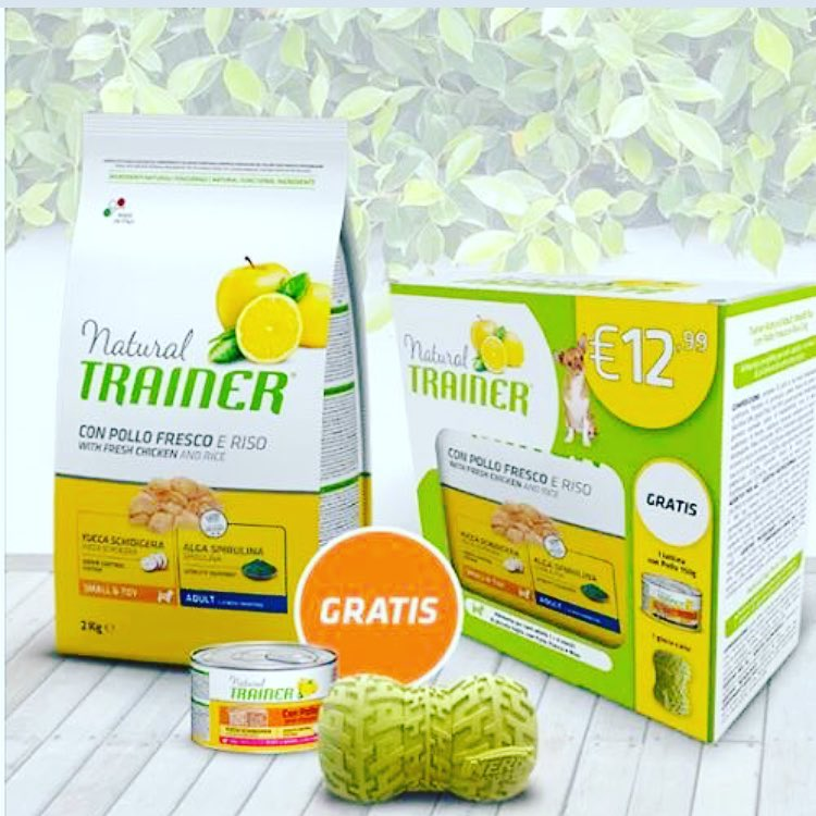 Natural Trainer Adult Mini Offerta speciale con gioco e tessera