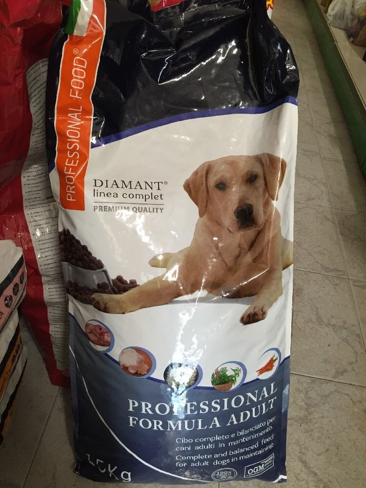 2x15kg Crocchette per cani professional food diamant adult