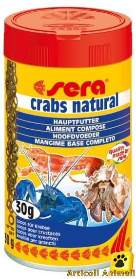 Sera crabs natural mangime per granchi 100 ml