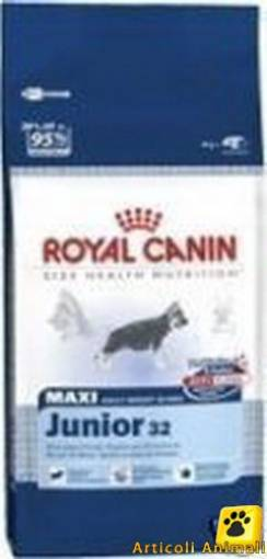 Crocchette cane royal maxi junior 32 kg 18kg