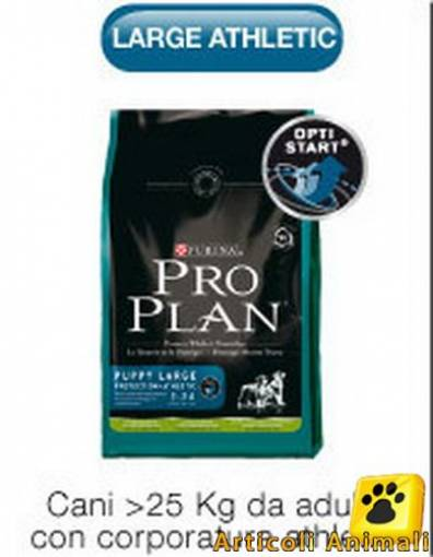 Crocchette cane proplan puppy large athletic 14 kg