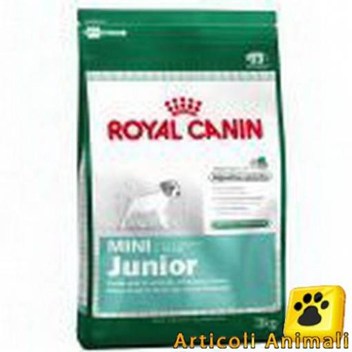 Crocchette cane royal canin mini junior 8kg