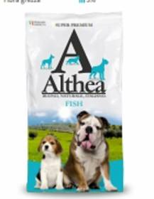 Crocchette althea fish 15 kg per cani adulti ipoallergenico super premium