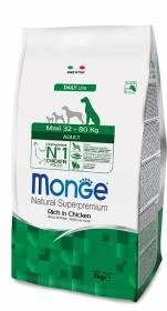 Crocchette Monge Maxi Adult 12kg Natural Superpremium