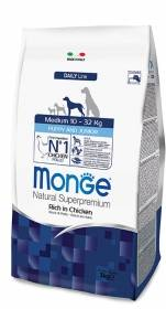 Crocchette Monge Medium Puppy 12kg Natural Superpremium