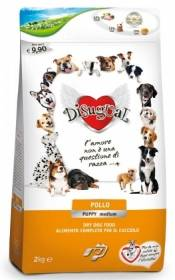 Crocchette cane disugual pollo puppy medium 2kg