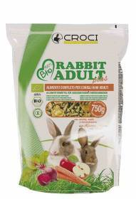 Mangime per conigli Rabbit Adult Bio 750 grammi