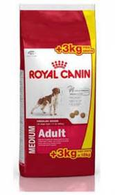 Medium Adult 15kg con 3kg omaggio Royal Canin Offerta