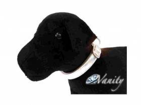 Collare per cane vanity royal argento 26-40 cm x 15mm
