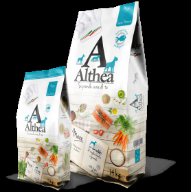 Crocchette althea fish 14 kg per cani adulti ipoallergenico super premium