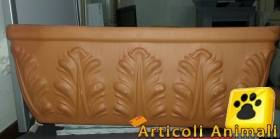 Vaso in terracotta mis cm 40*15*15h