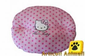 Cuscino cane hello kitty 50cm rosa