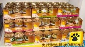 24 scatolette gourmet gold 85 gr souffle con salmone