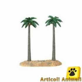Decorazione per acquario e terrario palm double large 31x12x30h
