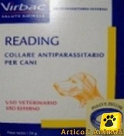 Collare antiparassitario per cani grossa taglia reading