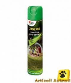 Insetticida anti zanzare spray barriera 600ml x esterno