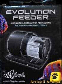 Mangiatoia automatica acquario evolution feeder