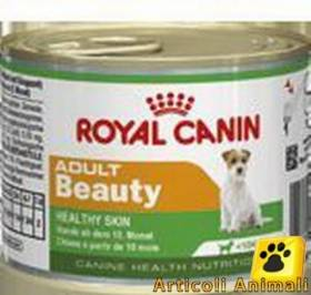 3 scatolette 195 gr. Royal canin adult beauty x cani adulti piccola taglia